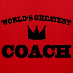 World's greatest Coach T-skjorter - Premium singlet for menn
