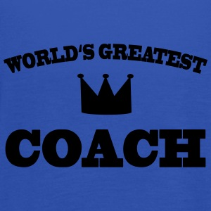 World's greatest Coach T-shirts - Dame tanktop fra Bella