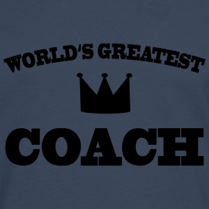 World's greatest Coach T-skjorter - Premium langermet T-skjorte for menn