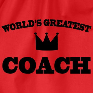 World's greatest Coach T-shirts - Sportstaske