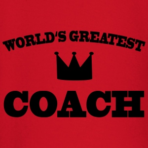 World's greatest Coach T-shirts - Langærmet babyshirt