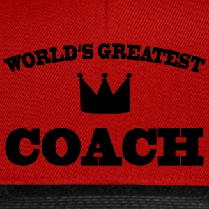 World's greatest Coach T-skjorter - Snapback-caps