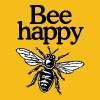 Bee Happy Beekeeper Quote Design (two-color) Tee shirts - T-shirt Premium Femme