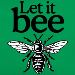 Let It Bee Beekeeper Quote Design (two-color) Tee shirts - Sac Retro