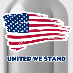 United we stand T-Shirts - Trinkflasche