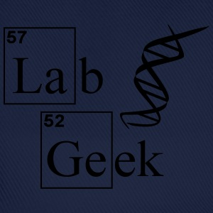 Lab Geek DNA T-Shirts - Baseballkappe