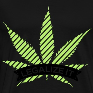 Legalize It Pullover & Hoodies - Männer Premium T-Shirt