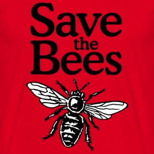 Save The Bees Beekeeper Quote Design (two-color) Mokken & toebehoor - Mannen T-shirt