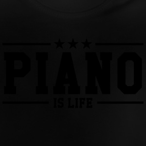 Piano is life Tee shirts - T-shirt Bébé