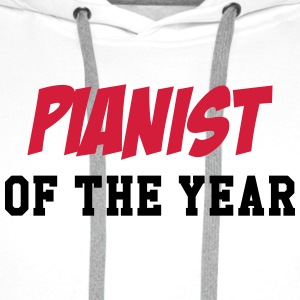 Pianist of the year T-Shirts - Männer Premium Hoodie