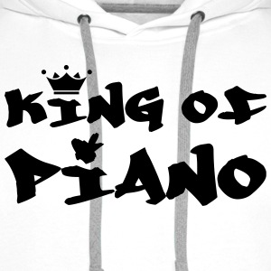 King of Piano T-Shirts - Männer Premium Hoodie