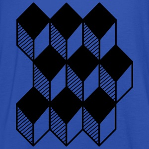 cube 3D T-Shirts - Women's Tank Top by Bella