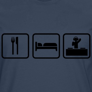 Eat Sleep Rave Camisetas - Camiseta de manga larga premium hombre
