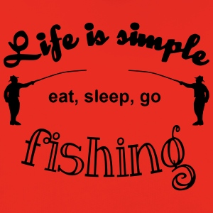 Life is simple T-Shirts - Kinder Premium Hoodie