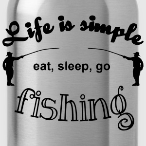 Life is simple T-Shirts - Trinkflasche