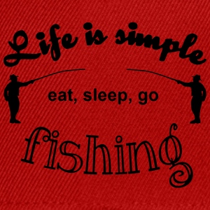 Life is simple T-Shirts - Snapback Cap