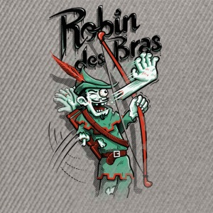 Robin des Bras Tee shirts - Casquette snapback
