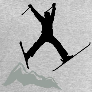 ski jump / ski jumper mountains Long Sleeve Shirts - Men's Sweatshirt by Stanley & Stella