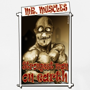 Tapis de souris Mr Muscles - T-shirt Premium Homme