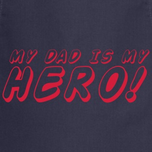 my dad is me HERO T-Shirts - Cooking Apron