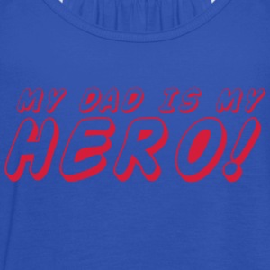 my dad is me HERO T-Shirts - Women's Tank Top by Bella