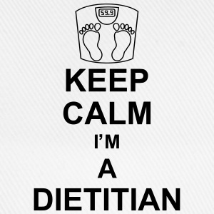 keep_calm_i'm_a_dietitian_g1 T-shirts - Basebollkeps