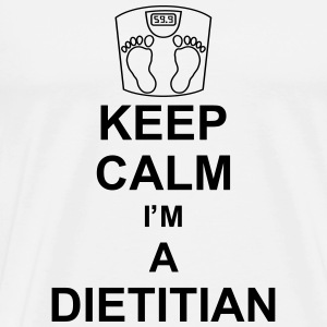 keep_calm_i'm_a_dietitian_g1 Sweatshirts - Herre premium T-shirt