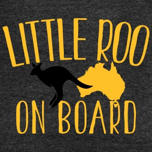 Little Roo on Board (Australian Aussie kangaroo) T-Shirts - Women's Boat Neck Long Sleeve Top