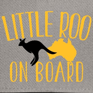 Little Roo on Board (Australian Aussie kangaroo) T-Shirts - Snapback Cap