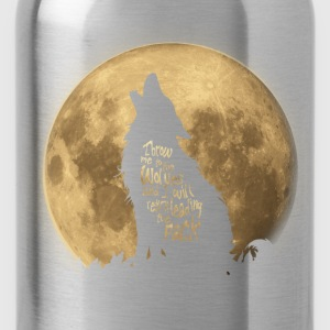 Throw me to the Wolves Langarmshirts - Trinkflasche