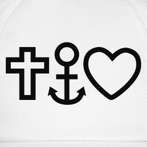 love faith hope / religion Sweats - Casquette classique