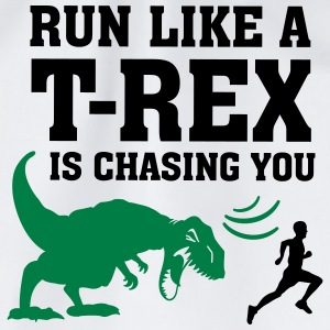Run Like A T Rex Is Chasing You T-shirts - Gymnastikpåse