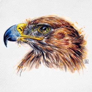 White eagle painting Bags & Backpacks - Baseball Cap