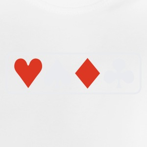 poker horizontal pokergame Shirts - Baby T-Shirt