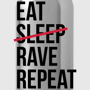 Eat Rave Repeat Pullover & Hoodies - Trinkflasche