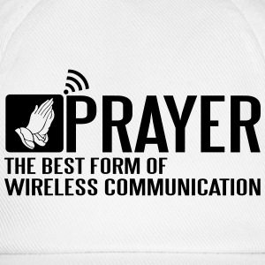 Prayer - the best wireless communication Tank Tops - Baseball Cap