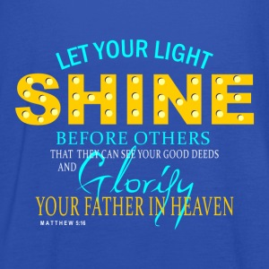 Let Your Light Shine - Women's Tank Top by Bella