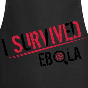 I survived Ebola Shirts - Keukenschort