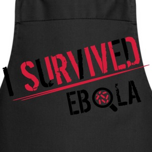 I survived Ebola Tee shirts - Tablier de cuisine