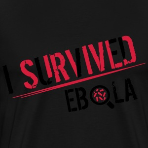 I survived Ebola Sweatshirts - Herre premium T-shirt
