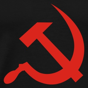 hammer and sickle / soviet union / russia Débardeurs - T-shirt Premium Homme