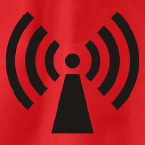 radio / wifi / wireless / signal  T-shirts - Sportstaske