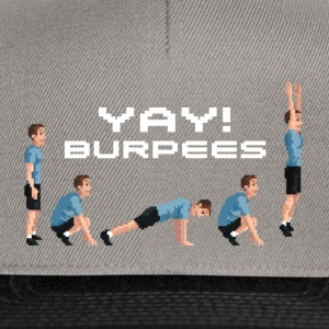 YAY! Burpees Tee shirts - Casquette snapback