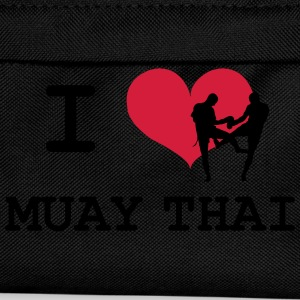 I Love Muay Thai T-Shirts - Kids' Backpack