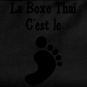 La Boxe Thaï c'est le pied ! T-Shirts - Kids' Backpack