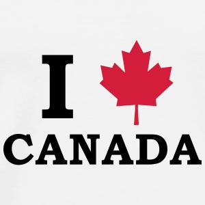 I Love Canada Mugs & Drinkware - Men's Premium T-Shirt
