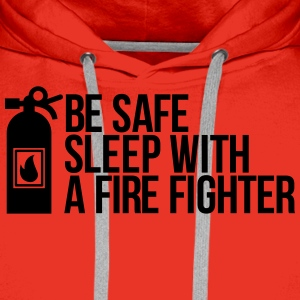 fire fighter T-Shirts - Men's Premium Hoodie