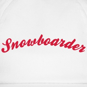 Snowboarder Cool Curved Logo - Casquette classique