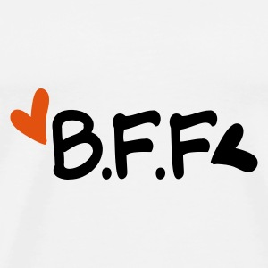 BFF  best friends forever typo Mug - Men's Premium T-Shirt