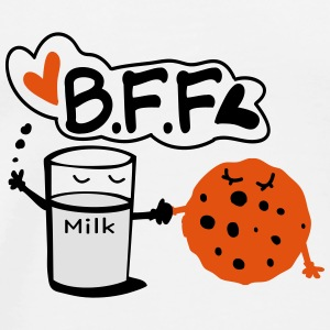 Cookie and Milk BFF Mug - Men's Premium T-Shirt
